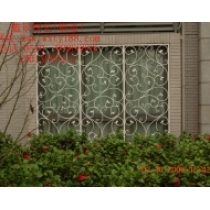 wrought iron window picture