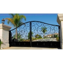 wrought iron gate picture